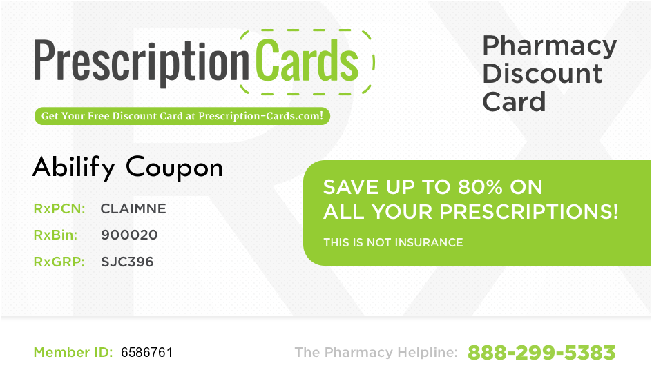 photo regarding Abilify Coupon Printable identified as abilify card